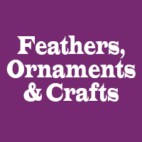 Feathers, Ornaments & Crafts